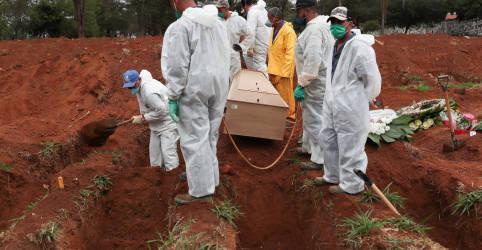 Placeholder - loading - Imagem da notícia Brasil passa de 70 mil mortes por coronavírus e supera 1,8 milhão de casos