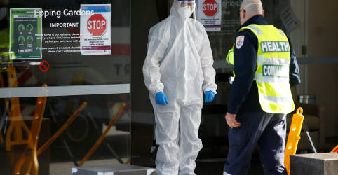 Placeholder - loading - Melbourne anuncia restrições em tentativa de conter coronavírus