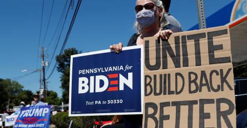 Placeholder - loading - Em noite de nomeação oficial, Biden vai apresentar visão para EUA pós-Trump
