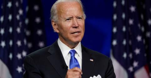 Placeholder - loading - Biden promete fim de 'escuridão' da era Trump ao aceitar indicação para eleição presidencial