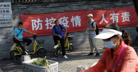 Placeholder - loading - Pequim dispensa uso de máscaras ao ver novo recuo de casos de Covid-19 na China
