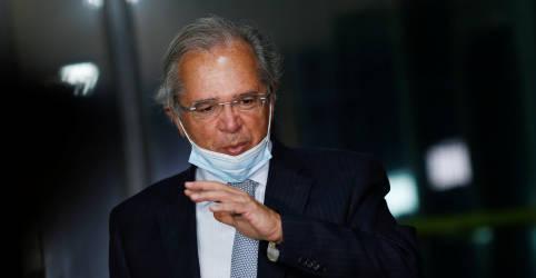 Placeholder - loading - Imagem da notícia Caged positivo é sinal excelente de que economia pode fazer retorno em V, diz Guedes