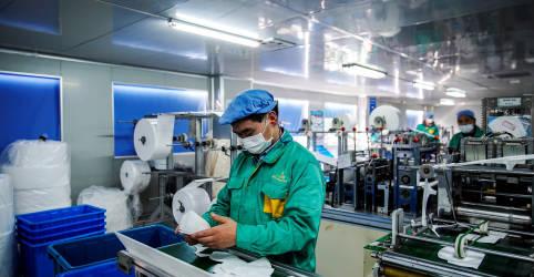 Placeholder - loading - Desempenho forte de serviços na China ofusca crescimento mais lento da indústria, mostra PMI oficial