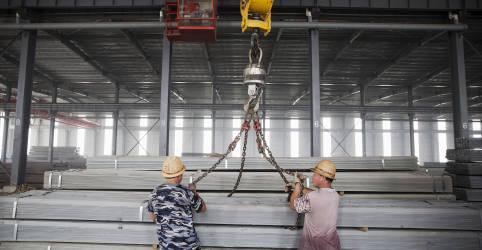 Placeholder - loading - Escritório de Comércio dos EUA age para conter importação de aço do Brasil e do México