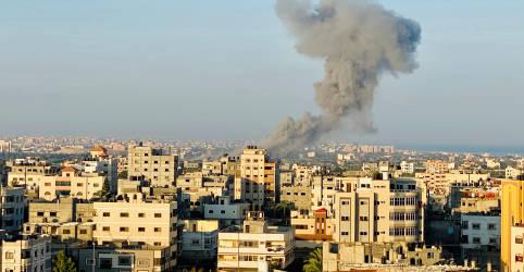 Placeholder - loading - Imagem da notícia Israel e Hamas concordam em restaurar calma ao longo da fronteira de Gaza