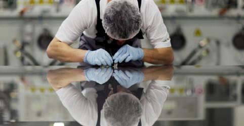 Placeholder - loading - Produção da indústria da zona do euro permanece forte em agosto de acordo com PMI