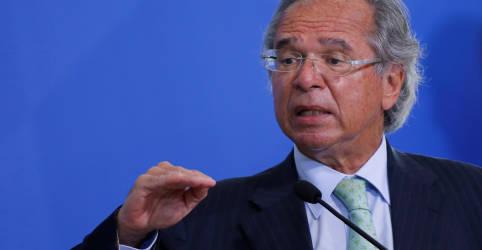 Placeholder - loading - Queda do PIB no 2º tri é 'som distante', economia já tem retomada em V, diz Guedes
