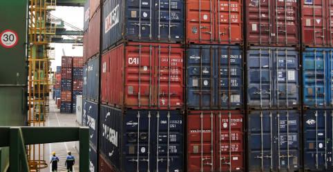 Placeholder - loading - Brasil tem superávit comercial recorde para agosto, de US$6,6 bi, por tombo nas importações