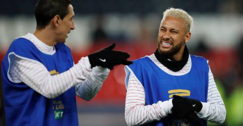 Placeholder - loading - Imagem da notícia Neymar, Di María e Paredes testaram positivo para Covid-19, diz L´Equipe