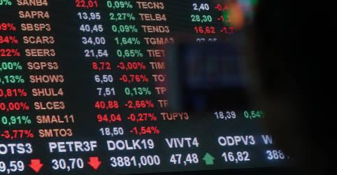 Placeholder - loading - Índice firma-se em queda com Wall St e perde patamar de 100 mil pontos