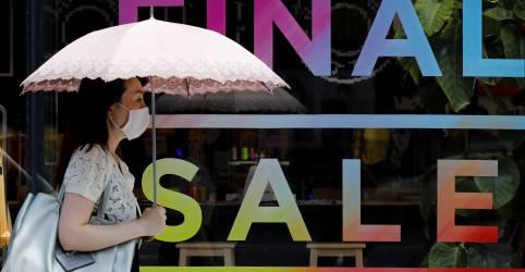 Placeholder - loading - Pior contração pós-guerra do Japão pode forçar novo premiê a ampliar estímulo