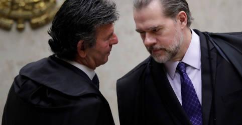 Placeholder - loading - Imagem da notícia Luiz Fux assume comando do STF com respaldo de agenda econômica e defesa da Lava Jato