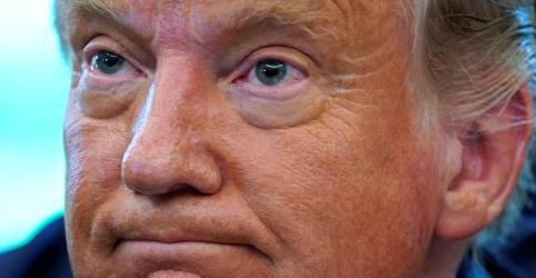Placeholder - loading - Imagem da notícia Trump recorre contra intimação de promotor de NY por declarações de imposto de renda