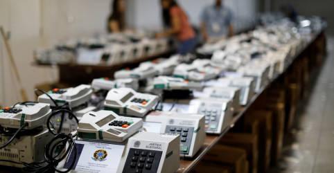 Placeholder - loading - STF barra impressão de comprovante de voto nas eleições