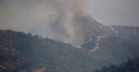 Placeholder - loading - Imagem da notícia Fumaça de incêndios florestais no oeste dos EUA chega à Europa