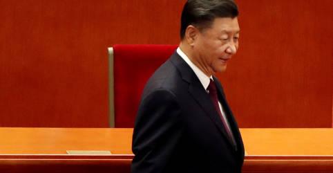 Placeholder - loading - Imagem da notícia Líderes da China devem apoiar meta menor de crescimento para 2021 a 2025 em reunião, dizem fontes