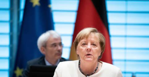 Placeholder - loading - Imagem da notícia Merkel diz Alemanha pode chegar a 19.200 casos de coronavírus por dia