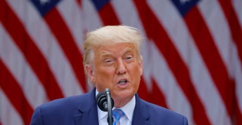 Placeholder - loading - Imagem da notícia Após revelações do New York Times, Trump diz que pagou milhões de dólares em impostos