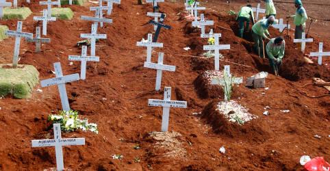 Placeholder - loading - Imagem da notícia Pandemia de coronavírus ultrapassa 'marco angustiante' de 1 milhão de mortes