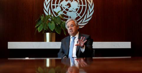 Placeholder - loading - Imagem da notícia Chefe da ONU faz apelo por aumento no financiamento do FMI a países atingidos pela pandemia