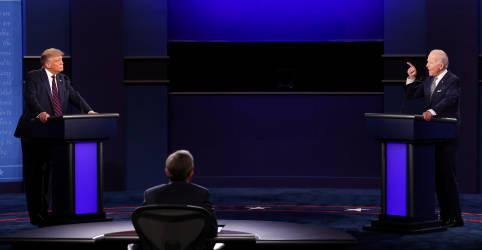 Placeholder - loading - Imagem da notícia Após primeiro debate caótico, Trump e Biden fazem campanha em Estados cruciais