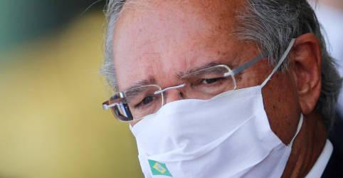Placeholder - loading - Imagem da notícia Renda Brasil será financiado com junção de programas e sem puxadinhos, diz Guedes