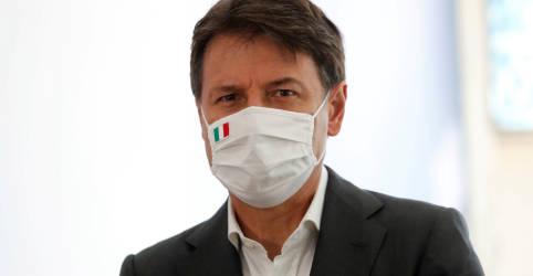 Placeholder - loading - Imagem da notícia Itália vai prorrogar estado de emergência por Covid-19 até final de janeiro, diz premiê