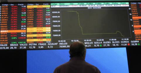 Placeholder - loading - Imagem da notícia Ibovespa começa outubro em queda com cautela ditando ritmo dos negócios