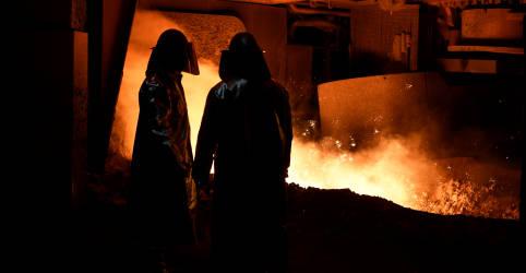 Placeholder - loading - Setor siderúrgico melhora projeções de desempenho para 2020