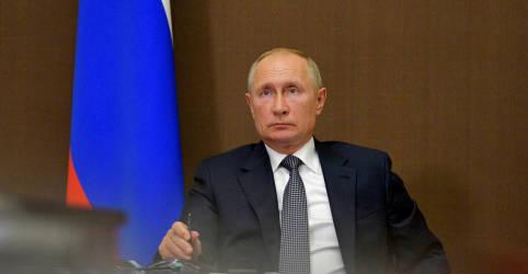 Placeholder - loading - Imagem da notícia Putin envia telegrama a Trump desejando rápida recuperação da Covid-19