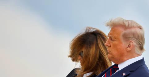 Placeholder - loading - Trump e primeira-dama dos EUA têm teste positivo para Covid-19