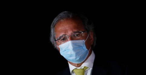 Placeholder - loading - Imagem da notícia Guedes diz que se Marinho falou mal dele, é 'despreparado, desleal e fura-teto'
