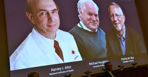 Placeholder - loading - Imagem da notícia Cientistas que ajudaram a identificar vírus da Hepatite C ganham Nobel de Medicina