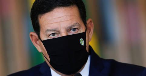 Placeholder - loading - Imagem da notícia Mourão diz que críticas a ação ambiental do Brasil são ideológicas e miram Bolsonaro