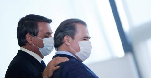 Placeholder - loading - Imagem da notícia Encontro de Bolsonaro com Toffoli gera forte reação entre aliados do presidente