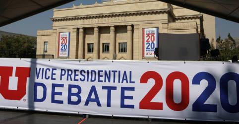 Placeholder - loading - Pence e Harris debaterão em meio a surto de Covid-19 na Casa Branca