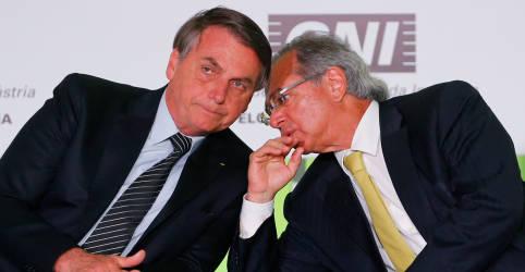 Placeholder - loading - Bolsonaro diz que palavra final na economia é dele e de Paulo Guedes