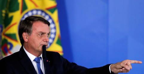 Placeholder - loading - Bolsonaro diz que trabalho da PF contra corrupção ajudou a elegê-lo