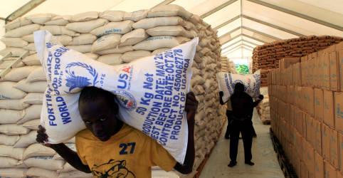 Placeholder - loading - Imagem da notícia 'Alimento é melhor vacina contra o caos', diz agência da ONU que ganhou Nobel da Paz