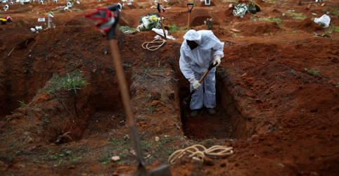 Placeholder - loading - Imagem da notícia Brasil registra mais 682 mortes por Covid-19 e se aproxima de 150 mil óbitos
