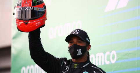Placeholder - loading - Imagem da notícia Hamilton conquista 91ª vitória na carreira e iguala recorde de Schumacher