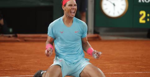 Placeholder - loading - Imagem da notícia Nadal conquista 13º título do Aberto da França e iguala recorde de Grand Slams