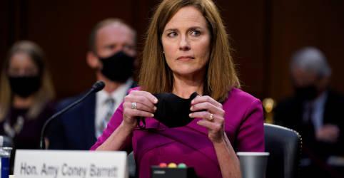 Placeholder - loading - Indicada de Trump à Suprema Corte enfrentará questionamento duro de democratas do Senado