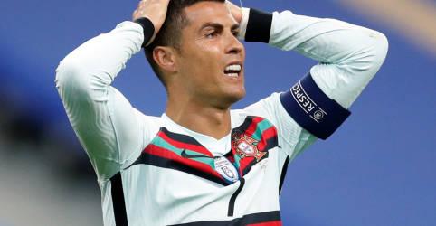 Placeholder - loading - Imagem da notícia Cristiano Ronaldo tem teste positivo para Covid-19