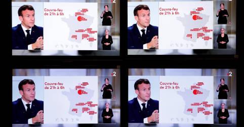 Placeholder - loading - Imagem da notícia Macron anuncia toque de recolher noturno na França para combater Covid-19