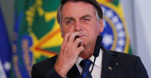 Placeholder - loading - Imagem da notícia Bolsonaro reafirma não ter corrupção no governo; senador com dinheiro na cueca deve perder cargo