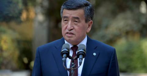 Placeholder - loading - Imagem da notícia Presidente do Quirguistão renuncia após tumultos e deixa vácuo de poder