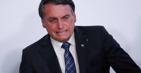 Placeholder - loading - Imagem da notícia Bolsonaro diz que não se pode vincular caso de senador com dinheiro na cueca ao governo