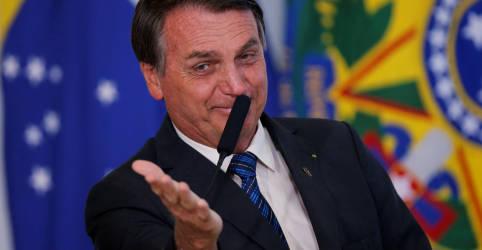 Placeholder - loading - Bolsonaro repete Guedes e diz que Brasil está 'voltando em V' de crise
