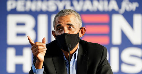 Placeholder - loading - Imagem da notícia 'É bom ver vocês': Obama participa de primeiro ato de campanha para Biden